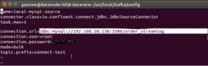 JDBC KafkaConnect